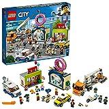 レゴ(LEGO) シティ 巨大クレーン車が活躍! ドーナツショップの開店 60233 おもちゃ ブロック