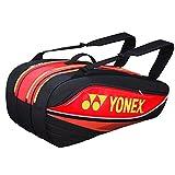 Yonex(ヨネックス) 2015 トーナメント ベーシック ラケットバッグ BAG7529EX [9本収納]/ブラック×レッド [並行輸入品]