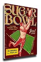 That 's Myチケット1948Sugar Bowlプログラムカバーキャンバス–Texas Longhorns