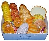 スクイーズ 食品サンプル パン 12個 セット 箱付 スクイーズ カフェ ディスプレイ パン 食パン クロワッサン メロンパン
