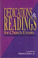 Dedications and Readings for Church Events