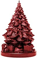 Candellana Candles 5902841367838 Christmas Tree Candle Red