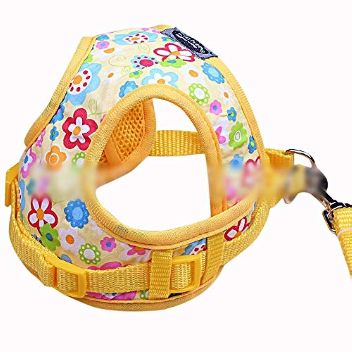 協定プラカードタイムリーなWAKABAFK 毎日引いていない犬用ハーネストレイルランニング、ウォーキング、ハイキング、終日着用 (色 : Multicolor)