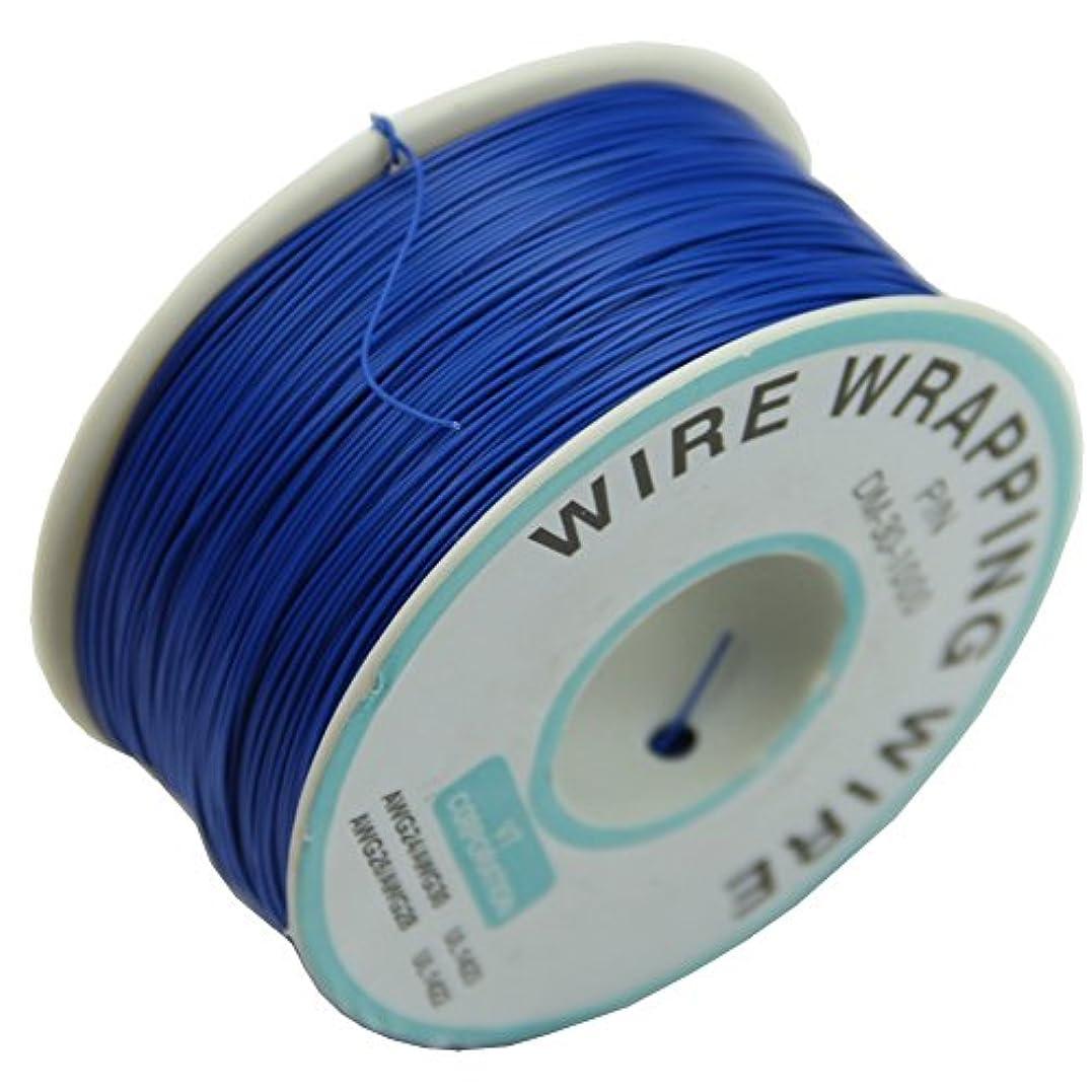ストローク評価する経験者REFURBISHHOUSE 0.25ミリメートル ワイヤーラッピング ワイヤ 30WGケーブル 305メートル 新(ブルー)