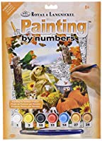 """Junior Small Paint By Number Kit 8-3/4""""X11-3/4""""-Autumn Festival [並行輸入品]"""