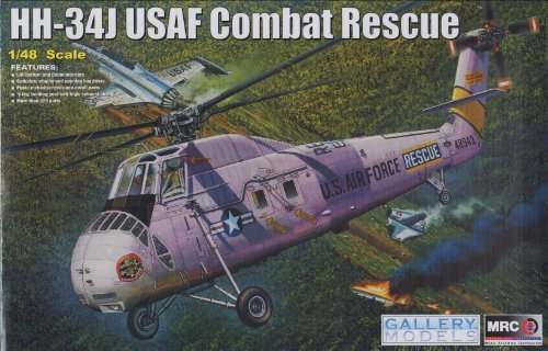 おもちゃ GAL64104 1:48 Gallery Models HH-34J USAF Combat Rescue MODEL モデル KIT [並行輸入品]