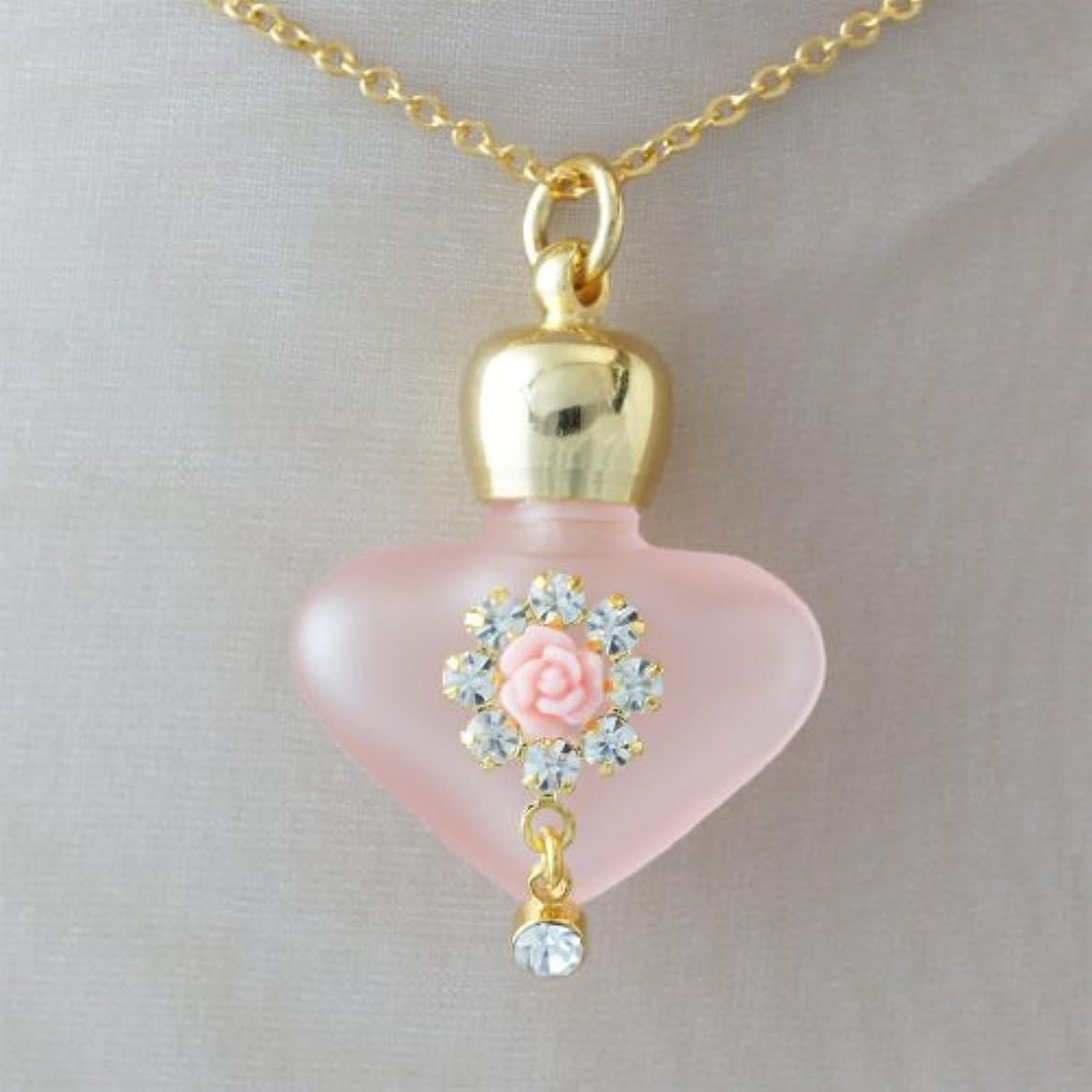 パーティーレーニン主義保険をかける【天使の小瓶】 ハートフラワー (ピンク)