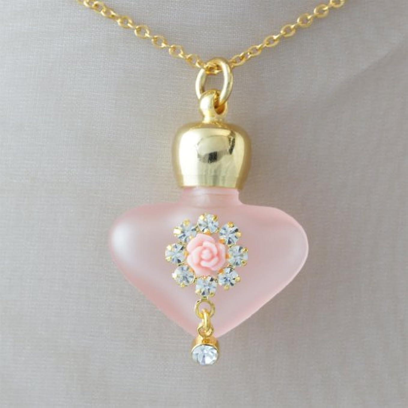 中国アボート薄暗い【天使の小瓶】 ハートフラワー (ピンク)