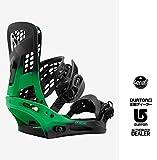 16-17 BURTON Genesis Reflex Snowboard Binding Green Fade:Mサイズ /(4X4対応)バートン ジェネシス リフレックス 正規品 保証書付