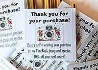投稿自撮り写真を直接販売のパッケージのカード|パッケージの50| MLM LipSense by SeneGence、lularoe、Paparazzi、Younique、Avon、メアリーケイ