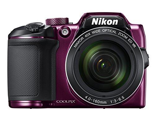 Nikon デジタルカメラ COOLPIX B500 光学40倍ズーム 1602万画素 単三電池 プラム B500PU