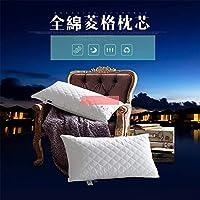 高級品 ホテルな用枕の芯、柔らかい肌、あなたに快適な睡眠 (74*48CM, ホワイト)