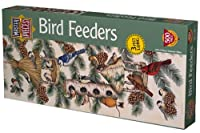 Bird Feeders Panoramic Jigsaw Puzzle 500pc by Master Pieces