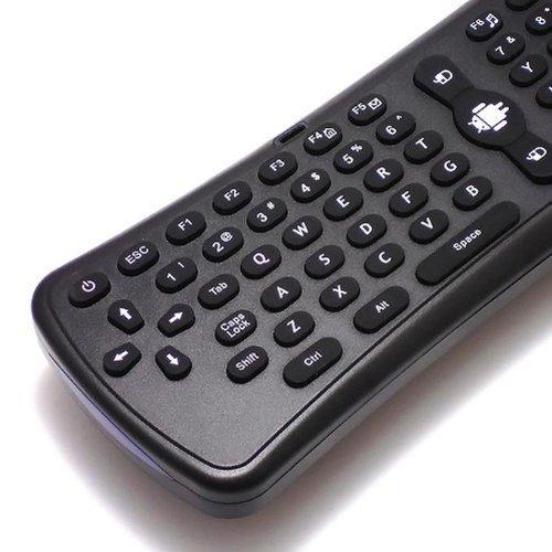 モデル T6 空中で使えるワイヤレスマウス&キーボード エアマウス&キーボード Air Mouse&Keyboard 一体型 高性能6軸ジャイロセンサー搭載 [並行輸入品]