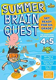 Summer Brain Quest: Between Grades 4 &am