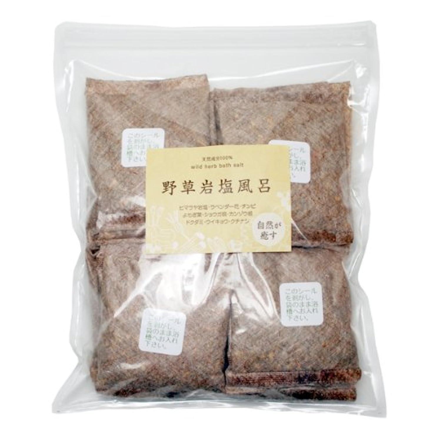 導入するいくつかのデコレーション野草岩塩風呂 20包お得タイプ