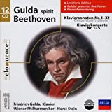 Beethoven: Piano Sonata No. 1-32, Piano Concertos No. 1-5 [Box set, CD, Import] / Friedrich Gulda, Stein (CD - 2007)