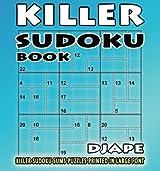 Killer Sudoku book: Killer Sudoku sums puzzles printed in large font (Volume 1)