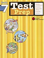 Test Prep Grade 7 (Flash Kids Harcourt Family Learning)