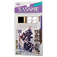 ささめ針(SASAME) ワカサギ凄腕10本鈎 C-212 1.5号