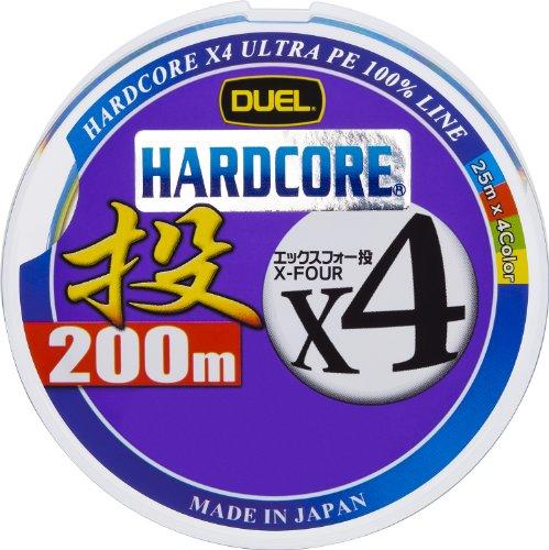 デュエル HARDCORE X4 投げ200m