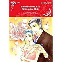 Boardrooms & a Billionaire Heir: Harlequin comics