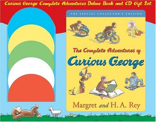 Curious George Complete Adventures Deluxe Book and CD Gift Setの詳細を見る