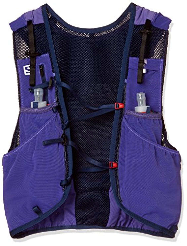 合金回路閲覧する[サロモン] ランニングハイドレーションバッグ ADV SKIN 12 SET Purple Opulence/Medieval Blue