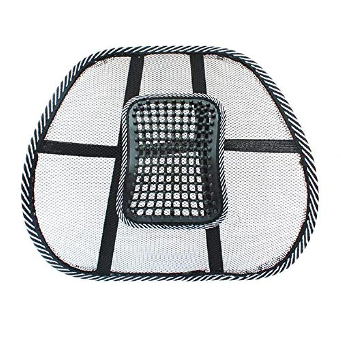 改善する神聖ゴネリルチェアマッサージバックランバーサポートメッシュベンチレーションクッションパッドカーオフィスシート-Innovationo