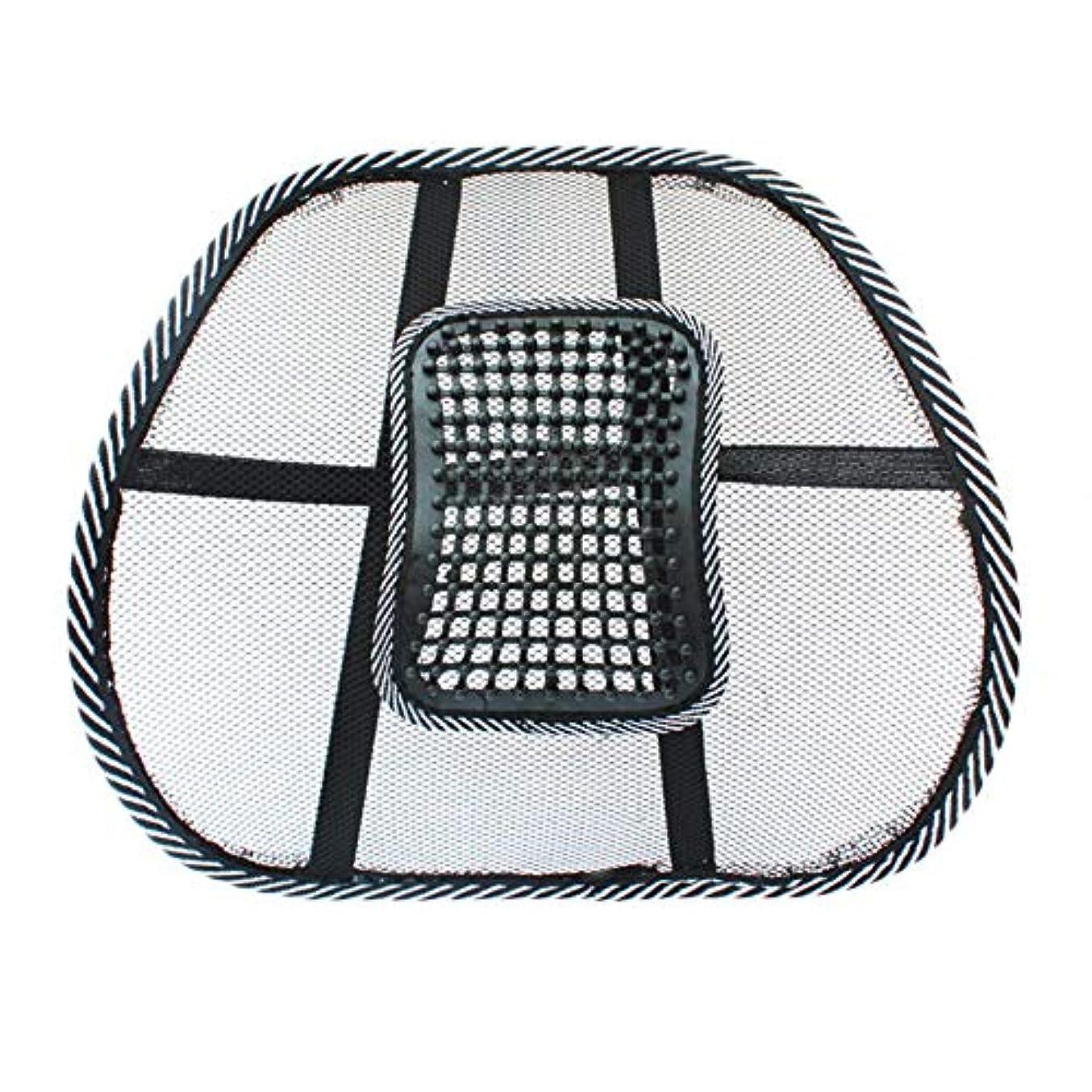 サバント薬用外科医チェアマッサージバックランバーサポートメッシュベンチレーションクッションパッドカーオフィスシート-Innovationo