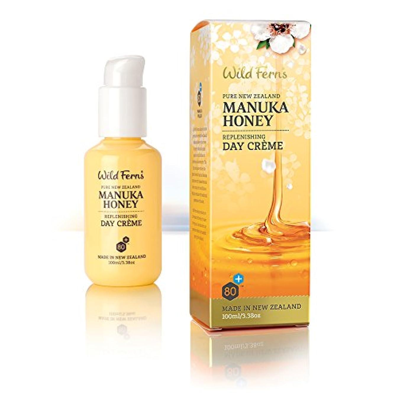 フクロウ作る賢明なManuka Honey Day Crème, 100ml