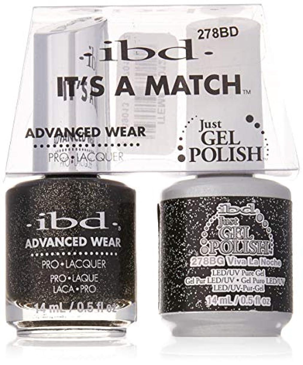 ibd - It's A Match -Duo Pack- Love Lola Collection - Viva La Noche - 14 mL / 0.5 oz Each