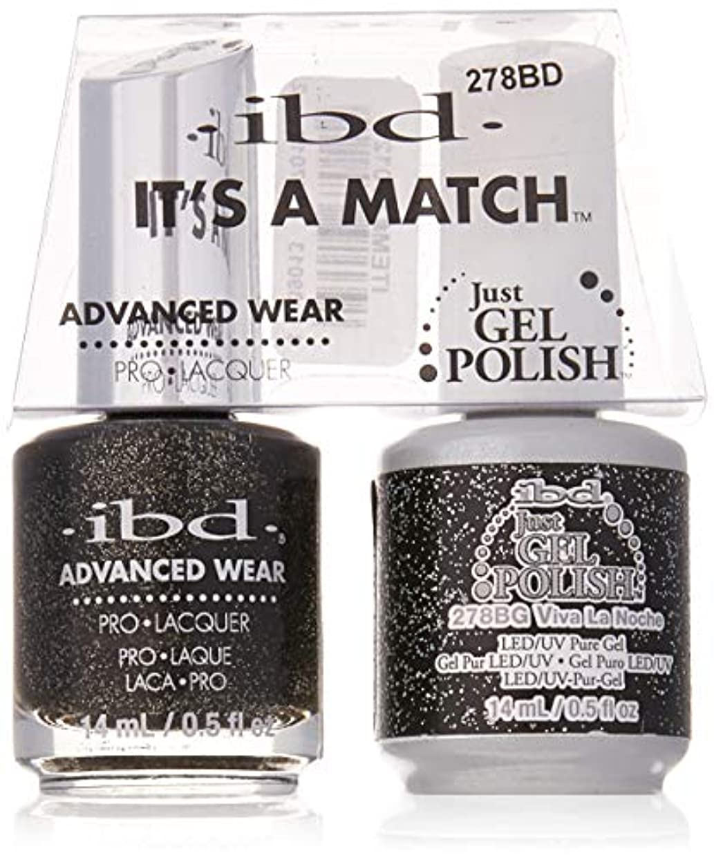 いくつかの宣教師華氏ibd - It's A Match -Duo Pack- Love Lola Collection - Viva La Noche - 14 mL / 0.5 oz Each