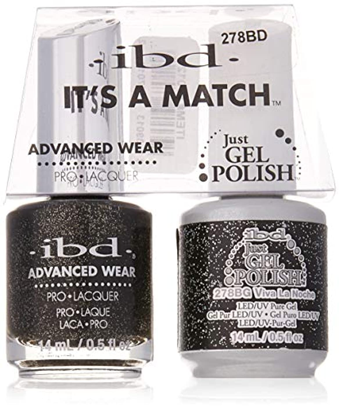 ibd - It's A Match -Duo Pack- Love Lola Collection - Viva La Noche - 14 mL / 0.5 oz Each