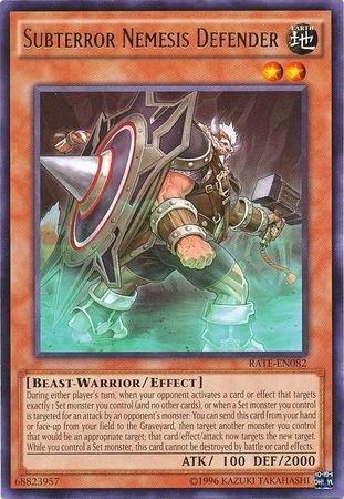 遊戯王 英語版 /Subterror Nemesis Defender - RATE-EN082 - Rare - Unlimited Edition - Raging Tempest (Unlimited Edition)