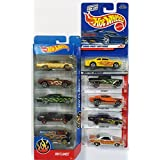 10 Hot Wheels FLAMES Vehicles Bundle : HW FLAMES 5-Pack '65 Chevy Impala '69 Camaro '66 Chevy Nova '67 Shelby GT400 Custom '77 Dodge Van & 5 Hot Wheels Flamed (Pictured) [並行輸入品]