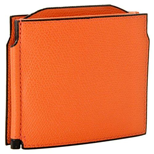 Valextra(ヴァレクストラ) 財布 メンズ グレインレザー マネークリップ オレンジ V0L54-028-00ARRD[並行輸入品]