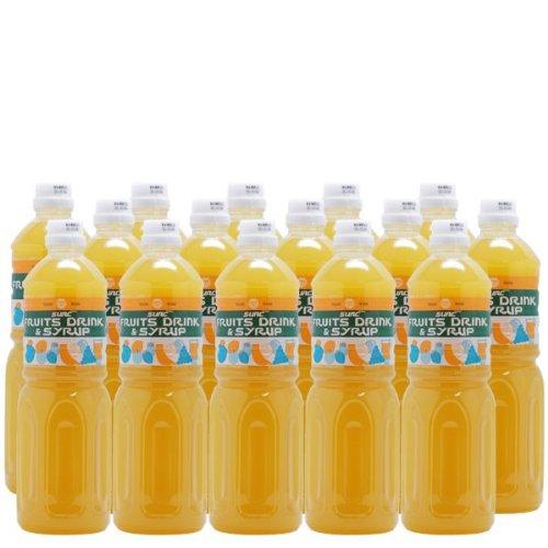 【業務用】 バナナ 濃縮ジュース (果汁濃縮バナナジュース) 希釈タイプ 1L ペットボトル×15本
