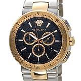 VERSACE ヴェルサーチ メンズ 腕時計 VFG100014 ミスティック スポーツ クロノグラフ ブラック×ローズゴールド [並行輸入品]