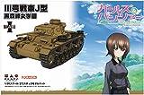プラッツ ガールズ&パンツァー III号戦車J型 黒森峰女学園 1/35スケール プラモデル GP-50