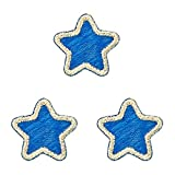 ミノダ ひらがな 星 ブルー (3枚セット) AM0264