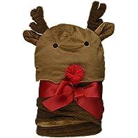 Mud Pie Reindeer Bunting and Cap Set, Brown by Mud Pie