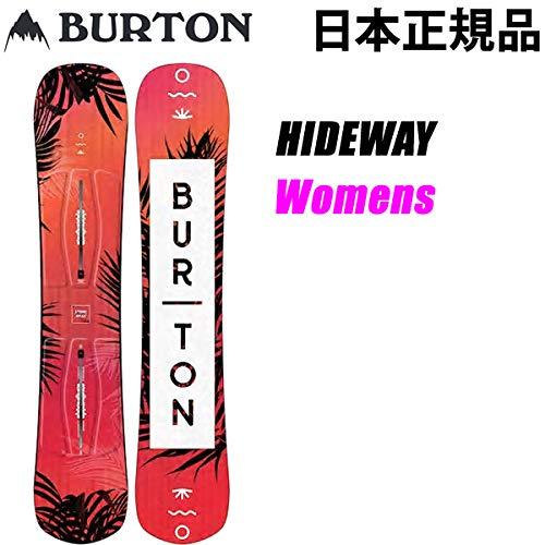 バートン スノーボード 板 レディース バートン  HIDEWAY 140cm フラット (18-19 2019) burton 板 ...