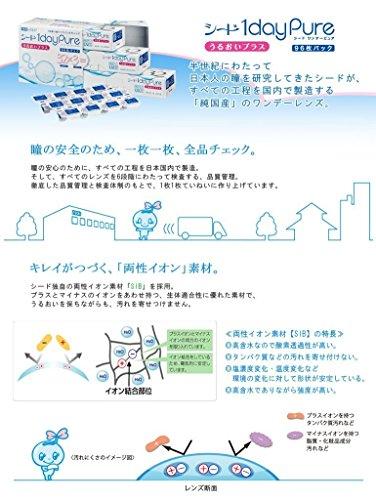 ワンデーピュアうるおいプラス 【BC】8.8【PWR】-4.50 96枚入