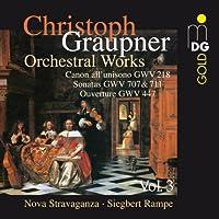 Graupner: Chamber Music Vol. 3 (2010-08-10)