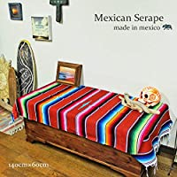 RUG&PIECE Mexican Serape made in mexcico ネイティブ メキシカン サラペ メキシコ製 (rug-6735)