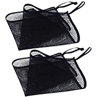 TOPBATHY Large Mesh Beach Tote Bag Sand Away Beach Mesh Bag for Beach Toys Clothes Carry Outdoor