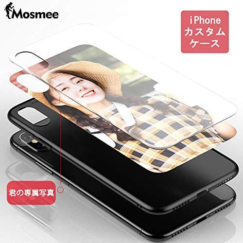 Mosmee カスタムスマホケース iPhoneケース スマホケース 強化ガラス TPU素材 全面保護 キズ防止 専属スマホケース iPhone7/7 plus/8/8 plus/X/XR/XS/XS MAX対応可能