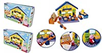 Peppa's Pig School Construction Set x 2 Set (Peppa and Geoerge Figures included)