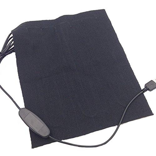 [해외]탄소 섬유 난방 테드 크로스! 최대 50 ℃까지 데우는 소형 전열 패드! 옷 아래 나 애완 동물의 히터에도 ♪ USB 포트 휴대용 히터/Carbon Fiber Heated Cross! Compact electric heating pad that warms up to 50 ℃! ♪ also under the clothes and...